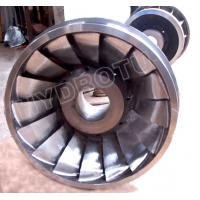 Buy cheap High water Head horizontal shaft Francis Turbine Runner with stainless steel runner from wholesalers