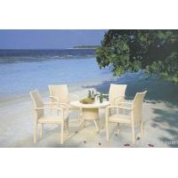 Buy cheap Stylish Elegant UV Philippine Dining Table Set Indoor / Outdoor Furniture for Living Room product