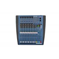 Buy cheap 12 Channel Digital Sound Mixer , Professional Low Noise Analog Audio Mixer from wholesalers