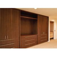 Buy cheap PRIMA Home Laminated Walk In Closet Wardrobe With Swing Door And Jewelry Box from wholesalers