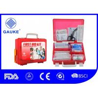 Buy cheap Plastic Box Type Industrial First Aid Kit For Construction Site Transparent from wholesalers