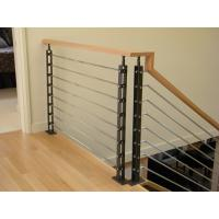 Stainless Steel Cable Guardrail System Solid Rod Bar Railing Balustrade