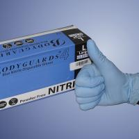 Buy cheap Powder free disposable nitrile gloves from wholesalers