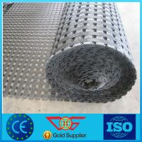 Buy cheap PVC Coated Polyester Geogrid Pet Geogrid with Ce Marking product