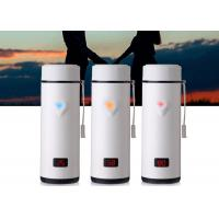 Buy cheap Stainless Steel Sports Drink Bottle , Metal Sports Bottle Cork Screw Cover from wholesalers