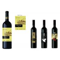Buy cheap Flexo Printing Wine Bottle Labels With Frozen Resistance Strong Glue product