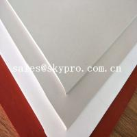 Buy cheap Food Grade Soft Customized Latex Rubber Sheet Odorless Rubber Sheeting Roll product