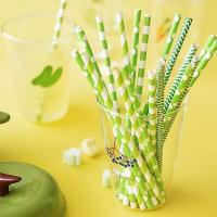 Buy cheap Compostable colorful bamboo paper straws product by wuxi factory from wholesalers