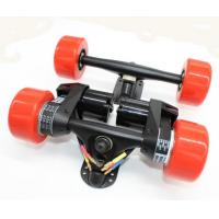 Buy cheap Electric Longboard skateboard Conversion Kit Rear Truck With Two Motor +front truck - Belt Drive dual 5065 motor drive from wholesalers