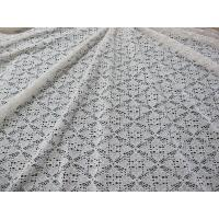 Buy cheap Stretchable Cotton Nylon Lace Fabric For Apparel , Lace Mesh Fabric from wholesalers