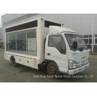 Buy cheap ISUZU Mobile LED Billboard Truck With Scrolling Light Box For Sales Promotion AD from wholesalers