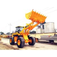 Buy cheap Chinese heavy machinery 5 ton front end loader with optional joystick control and air-conditioner from wholesalers