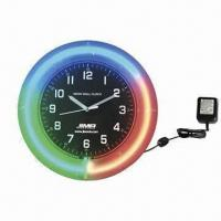 Buy cheap Color change LED wall clock from wholesalers