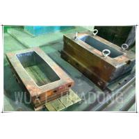Buy cheap Permanent Casting Machine Parts , 200kg Strip Graphite Casting Mold from wholesalers