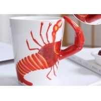 Buy cheap Supermarket 450ml 15 Oz 9cmx11cm 3D Ceramic Mugs product