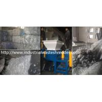 Buy cheap Scrap PE / PP Film Double Shaft Shredder High Torque For Agricultural from wholesalers