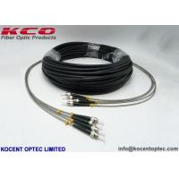 Buy cheap Lc To Fc 4 Core Outdoor Fiber Optic Patch Cable RRU 0.2dB Army Field from wholesalers