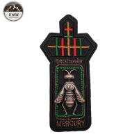 Buy cheap Bumble Bee 3D Custom Made Embroidered Patches Simple Style For Uniform from wholesalers