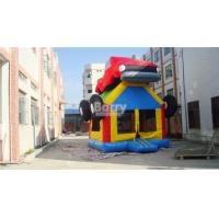 Buy cheap Car Shape Inflatable Bouncer Fire Retardant PVC Tarpaulin / Oxford Cloth For Park from wholesalers