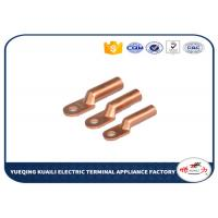 Buy cheap DT Series Spade Ferrule Connector Insulated Terminal Lugs Copper Tube from wholesalers
