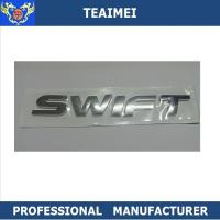 Buy cheap Customized Best Chrome Finish Car Letter Emblems for Swift Auto Body Badge Sticker from wholesalers