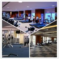 Buy cheap Shenzhen GYM/Garage/Hospital/School Plastic PVC Interlocking Flooring Tiles product