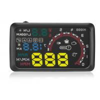 Aftermarket Heads Up Display W02 HUD ,  Multi - Function 5.5 Inch Car Head Up Display Projector