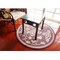 Eco Friendly Round Oriental Rugs Non Slip Area Rugs For Bedroom Round Oriental Rugs