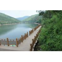Buy cheap Waterproof Handrails Type Wood Deck Railing , Composite Porch Railing For Balcony Balustrade from wholesalers