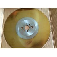 Buy cheap DMo5Co5 materialTIN coating by PVD high speed circular saw blade from wholesalers