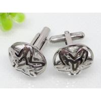 Buy cheap Hollowed Stainless Steel Doubled Star Cuff Links 1620045 from wholesalers