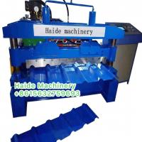 Buy cheap ibr roll forming machine 15 rows of rollers with 5.5kw frequency converter, Chain Size1'' from wholesalers