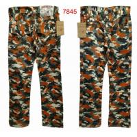 Buy cheap Wholesale Newly T-R hip-hop camouflage leisure branded jeans of top quality,free shipping from wholesalers