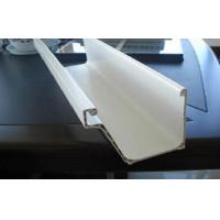 Rectangular PVC Commercial Rain Gutters And Downspouts For Building Exterior