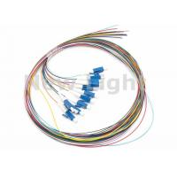 Buy cheap LC / UPC SM 12 Core Single Mode Fiber Optic Cable Color Coded Fiber Optic Pigtail product