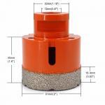Buy cheap Vacuum Brazed Diamond Core Drill Bit 2 Inch Diameter For Concrete / Granite from wholesalers