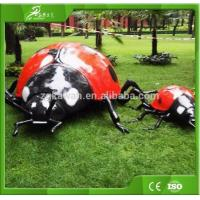 Buy cheap KAWAH ourdoor playground Animatronic Ladybug simulation insect model from wholesalers