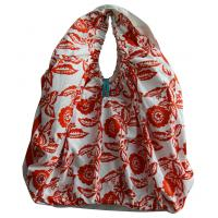 Buy cheap Customized DYE Printing Round handle Lady shopping cotton bag leisure style from wholesalers
