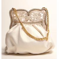 Buy cheap Fashion silk flower evening handbag from wholesalers