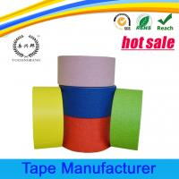 Buy cheap Automotive paint crepe paper colored masking tape from wholesalers