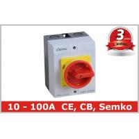 Buy cheap IP65 32A Three Pole Isolator Switch / Industrial Rotary On Off Switch from wholesalers