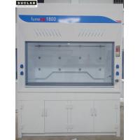 Buy cheap Full PP Fume Hood , PVC Window Laboratory Fume Cupboards Adjust Air Speed from wholesalers