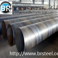 Buy cheap Carbon steel SSAW 3PE coated steel pipe,spiral welded pipe,carbon steel Q195-Q345 steel pipe,api5l x60 x70 x80,stainless from wholesalers
