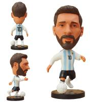 Buy cheap customized football star player statue figurine 2018 russian football star figurine World Cup gift souvenirs from wholesalers