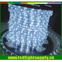 Buy cheap super bright white outdoor christmas rope lights 2 wire rope light from wholesalers