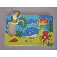 Buy cheap Customized Best Fishing Magnetic Board Toys Best Mind Toddler Wooden Jigsaw Puzzles from wholesalers