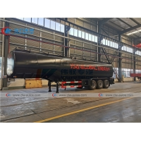 Buy cheap Tri Axle 1300 Gallons 50000L Oil Delivery Truck from wholesalers