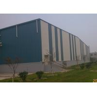 Buy cheap Portable structure wind-resistant large-span steel structure warehouse from wholesalers