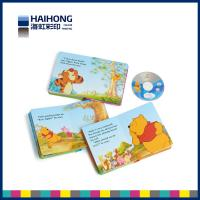 China Children funny photo board books printing with CD / DVD /C1S cardboard paper material on sale