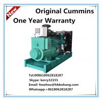 Buy cheap Cummins AC three phase diesel generator set NTA855-G1B from wholesalers
